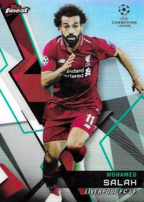 2018-19 Topps Finest UEFA Champions League Soccer Cards 3