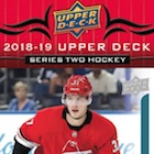 2018-19 Upper Deck Series 2 Hockey Cards