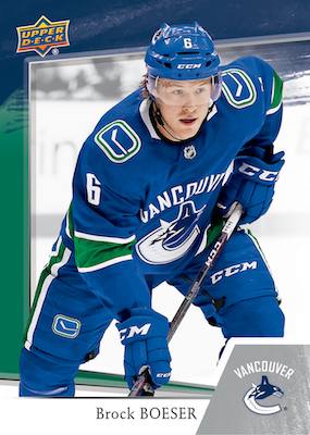 2018-19 Upper Deck Subway Vancouver Canucks Hockey Cards 3