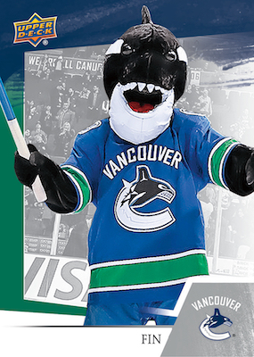 2018-19 Upper Deck Subway Vancouver Canucks Hockey Cards 1