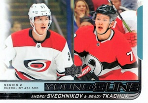 2018-19 Upper Deck Young Guns Rookie Checklist and Gallery 102