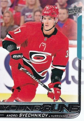 2018-19 Upper Deck Young Guns Rookie Checklist and Gallery 53