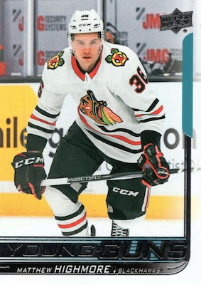 2018-19 Upper Deck Young Guns Rookie Checklist and Gallery 66