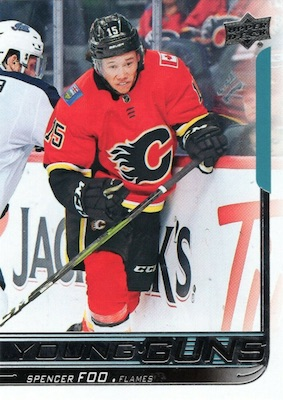 2018-19 Upper Deck Young Guns Rookie Checklist and Gallery 72