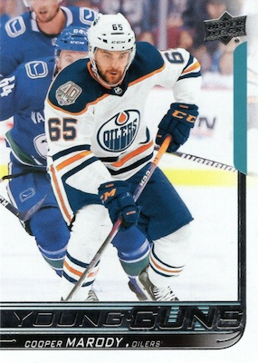 2018-19 Upper Deck Young Guns Rookie Checklist and Gallery 77