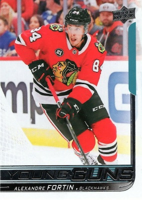 2018-19 Upper Deck Young Guns Rookie Checklist and Gallery 92