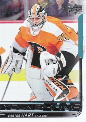 2018-19 Upper Deck Young Guns Rookie Checklist and Gallery 93