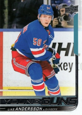 2018-19 Upper Deck Young Guns Rookie Checklist and Gallery 99