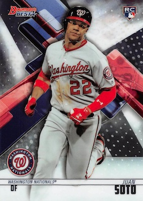 Juan Soto Rookie Cards Checklist and Top Prospect Cards 1