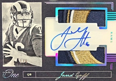 2018 Panini One Football Cards 5