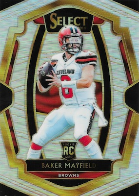 2018 Panini Select Football Cards 4