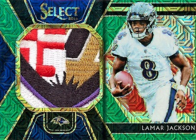 2018 Panini Select Football Cards 35
