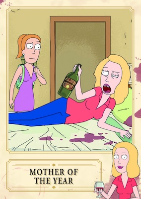 sexy beth rick and morty