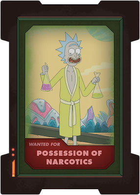 2019 Cryptozoic Rick and Morty Season 2 Trading Cards 31