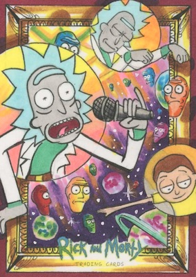 2019 Cryptozoic Rick and Morty Season 2 Trading Cards 8