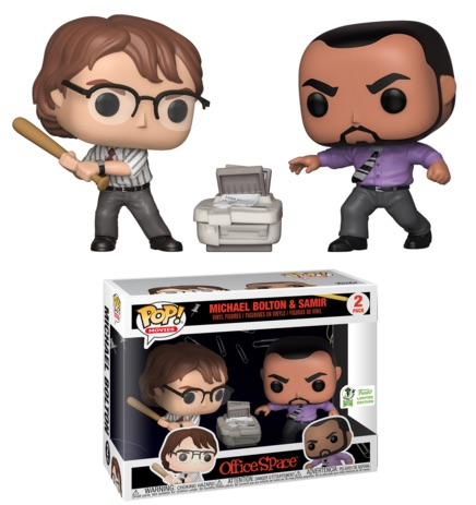 Funko Pop Office Space Vinyl Figures 7