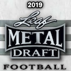 2019 Leaf Metal Draft Football Cards