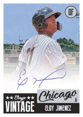 2019 Onyx Vintage Collection Baseball Cards 1