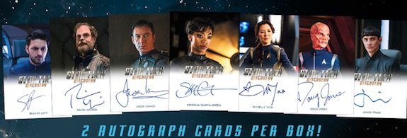 2019 Rittenhouse Star Trek Discovery Season 1 Trading Cards - Updated Checklist 3