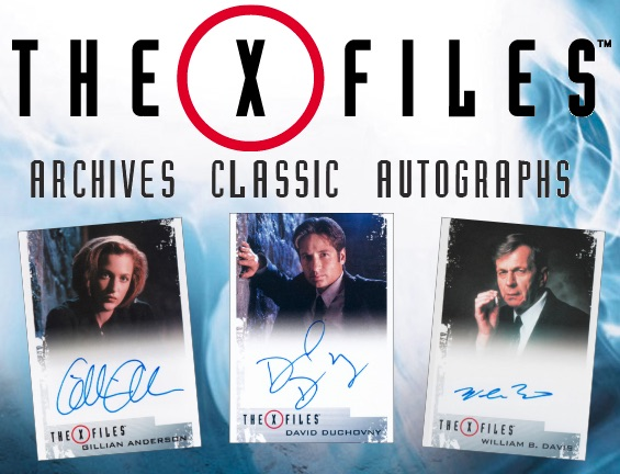 2019 Rittenhouse The X-Files Archives Classic Autographs Cards 1