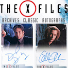 2019 Rittenhouse The X-Files Archives Classic Autographs Cards