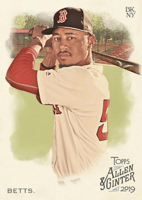 2019 Topps Allen & Ginter Baseball Cards 3