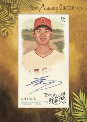2019 Topps Allen & Ginter Baseball Cards 8