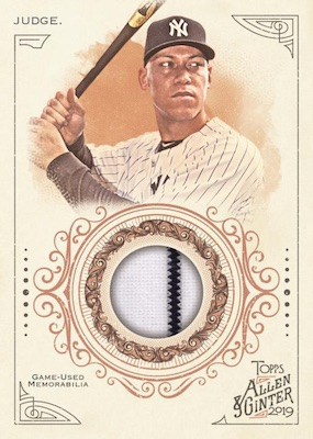 2019 Topps Allen & Ginter Baseball Cards 10