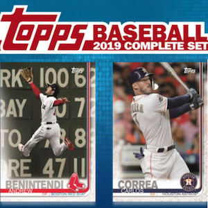 2019 Topps Baseball Complete Factory Set Checklist Boxes Exclusives