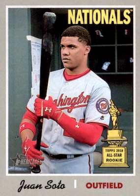 2019 Topps Heritage Baseball Variations Gallery and Checklist 47