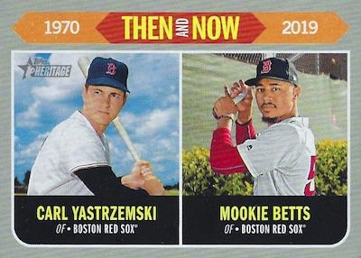 2019 Topps Heritage Baseball Cards 48