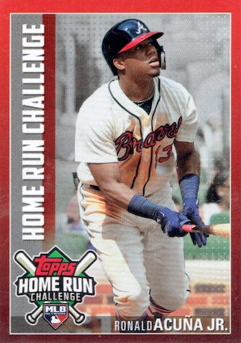 2019 Topps Home Run Challenge Checklist Details How To Play Set Info