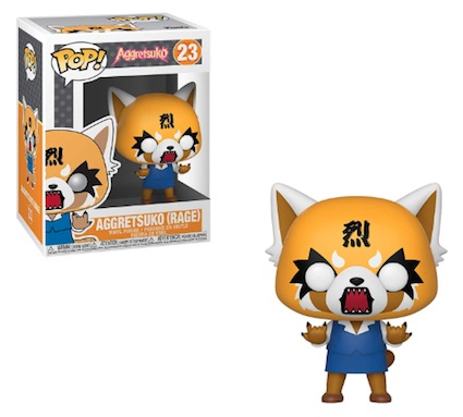 Funko Pop Aggretsuko Vinyl Figures 4