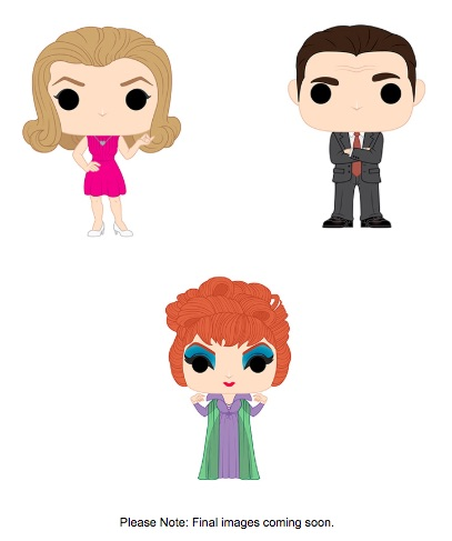 Funko Pop Bewitched Vinyl Figures 1