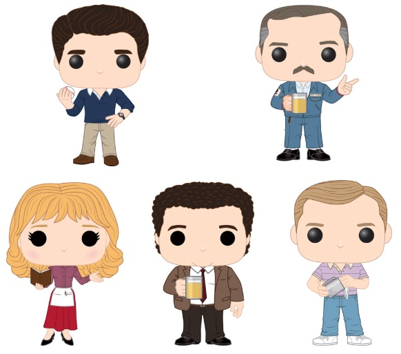Funko Pop Cheers Vinyl Figures 1