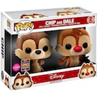 Funko Pop Chip and Dale Vinyl Figures