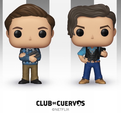 Funko Pop Club de Cuervos Vinyl Figures 1