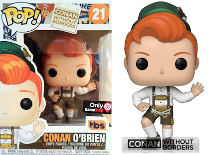 Ultimate Funko Pop Conan O'Brien Figures Checklist and Gallery 23
