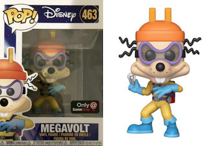 Funko Pop Darkwing Duck Vinyl Figures 8