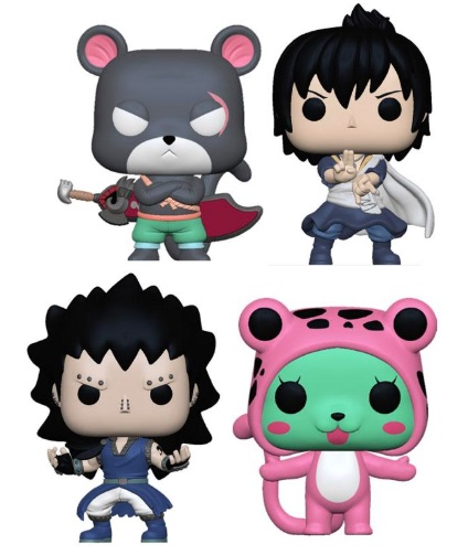 Ultimate Funko Pop Fairy Tail Figures Checklist and Gallery 13