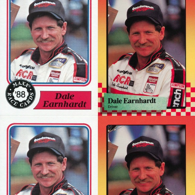 Sports Mem, Cards & Fan Shop 1997 Pinnacle Racers Choice Busch Clash #1 Dale Earnhardt Racing Card Modern Design Auto Racing Cards