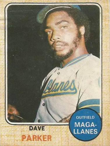 Top 10 Dave Parker Baseball Cards 9