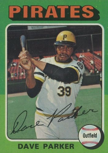 Top 10 Dave Parker Baseball Cards 8