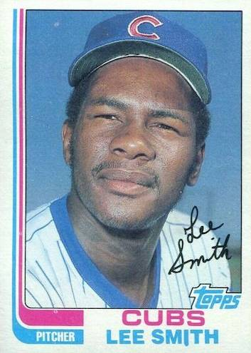 Top 10 Lee Smith Baseball Cards 10