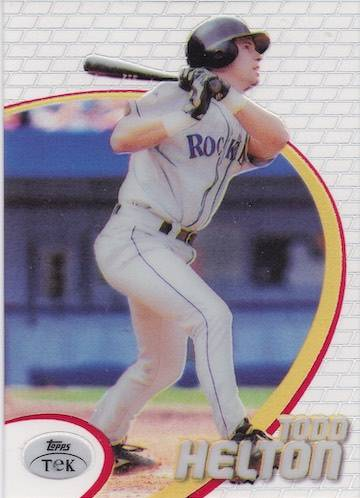 Top 10 Todd Helton Baseball Cards 2