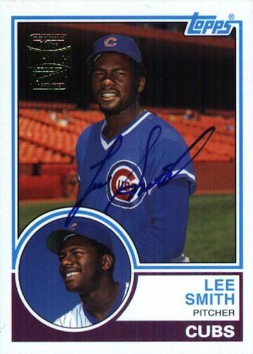Top 10 Lee Smith Baseball Cards 6