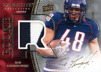 Top Rob Gronkowski Rookie Cards 7