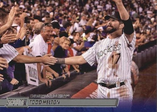 Top 10 Todd Helton Baseball Cards 1
