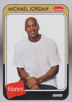 2018-19 Fleer Hanes Michael Jordan 30th Anniversary Trading Cards 4
