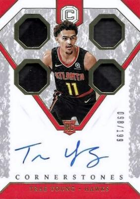 2018-19 Panini Cornerstones Basketball Cards 4